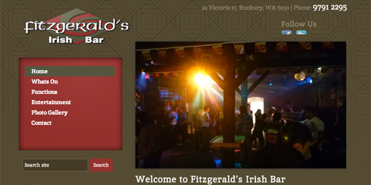 Fitzgerald's Irish Bar | Brandicoot