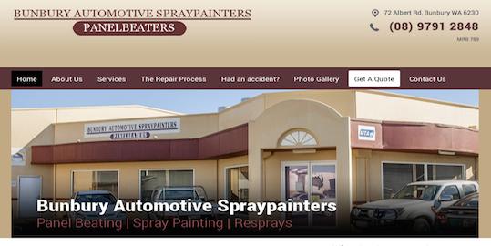 Bunbury Automotive Spraypainters | Brandicoot