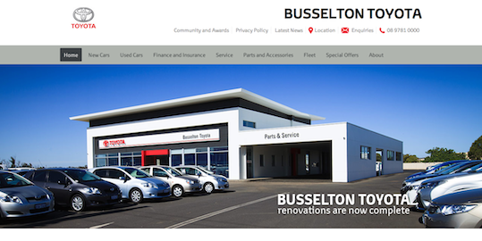 Busselton Toyota New Cars