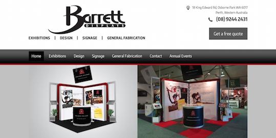 Exhibition Displays Perth : Barrett exhibition group brandicoot