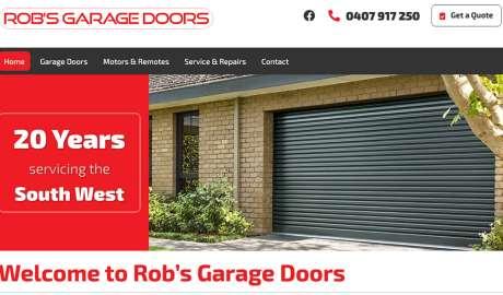 Rob's Garage Doors Bunbury